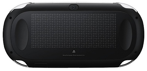 Playstation Vita baksidan