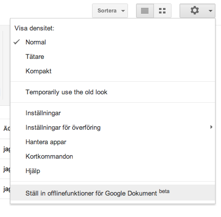 how to make a google document offline