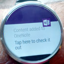 Onenote f�r Android Wear