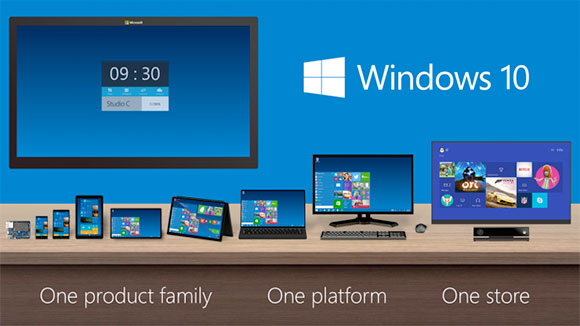 windows 10 pc mobiles tablet devices