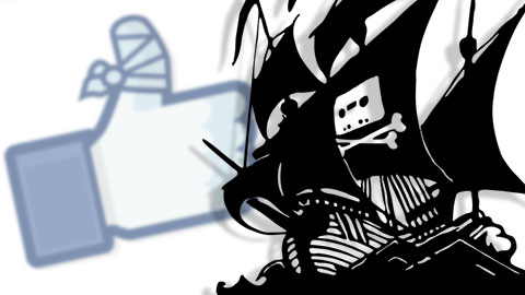Pirate Bays Facebooksida nedst�ngd