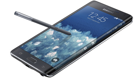 Samsung Galaxy Note Edge har en cool sk�rmkant
