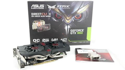 testvinnaren Asus GeForce GTX 960 Strix
