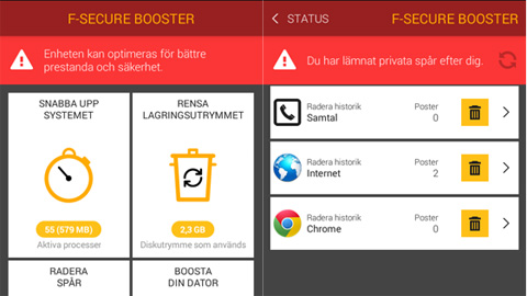 f-secure booster