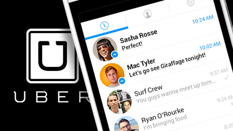 Uber integreras med Facebook Messenger