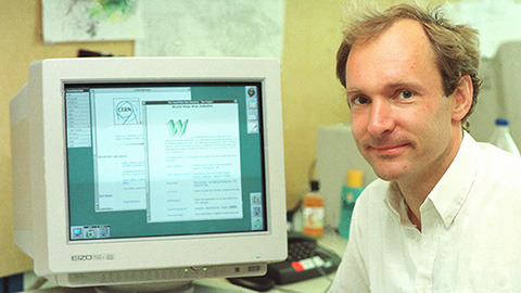Sir Tim Berners-Lee och World Wide Web